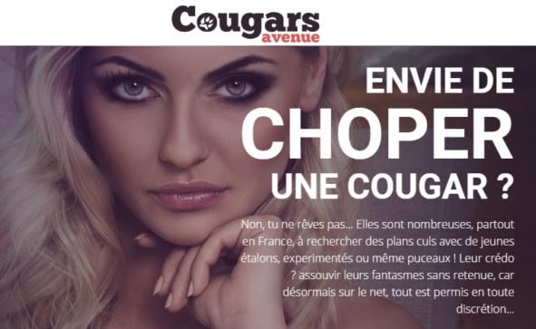 avis complet site de rencontre cougars avenue